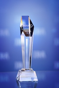 European Software Excellence Award. IBA's trophy