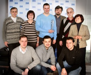 Award-winning IBA team