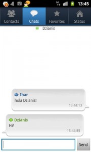 IBA messenger screenshot 3