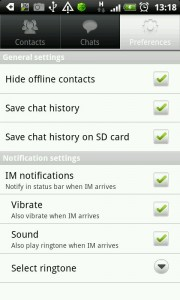 IBA Messenger screenshot1