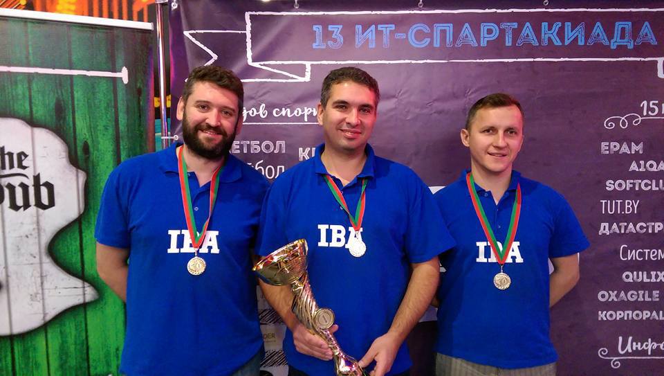 IBA Group Wins Second Place at IT Spartakiada 2016